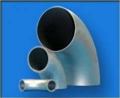 Steel transitions pipeline