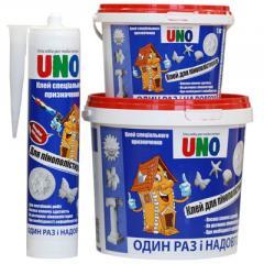 Glue acrylic UNO Polystyrene (1 kg.)