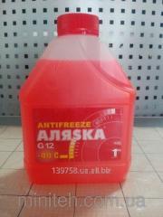 Антифриз-40 Аляска красный 1 л.