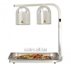 Lamp for warming up of dishes, 500W,