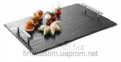 Dish slate with handles 424704