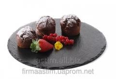 Dish slate - round. set of 2 pieces 424636