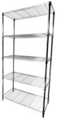 Rack warehouse – 5 shelves, 455x910x1840(H) mm
