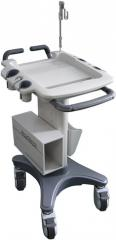 Mobile carts for portable ultrasonography of