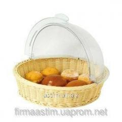 Basket for cookies and rolls with Rolltop 426951