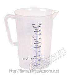Measured cup from polyethylene with Hendi 567203