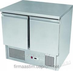 Table refrigerating 2-door with a working surface