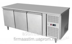 Table refrigerating 3-door with a lateral