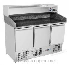 Table refrigerating for pizza 3-door with the