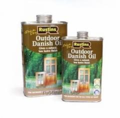 Датское масло для внешних работ Q/D DANISH OIL,