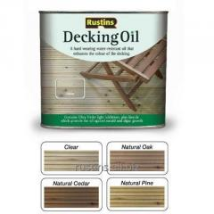 Color oils for terraces (colourless) DECKING OIL