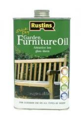 Oil for garden furniture of GARDEN FURNITURE OIL,