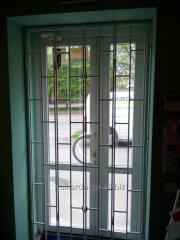 Решетки складывающиеся дверные