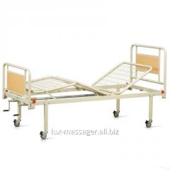 Bed functional three-section on wheels, the