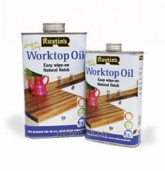 Oil for processing of working surfaces of WORKTOP