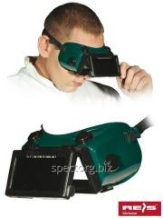 Goggles for the welder of GOG-RECTANGLE ZB