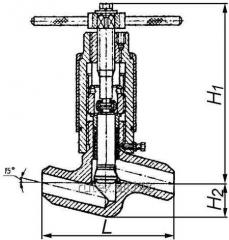 Valve of joint stock company 21005
