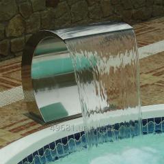 Водопад из нержавеющей стали в бассейн, код товара A31001