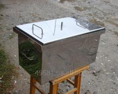 Inexpensive smoking sheds from a stainless steel,