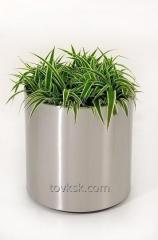 Flowerpot from a stainless steel, A30007 product