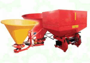 Spreaders of mineral fertilizers of 300 l