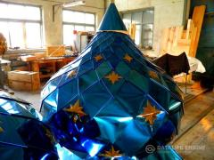 Domes for temples from the manufacturer, the products are certified
