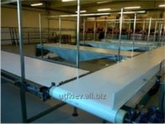 Conveyor belt horizontal