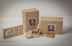 Additive pishchevya malt rye in a box