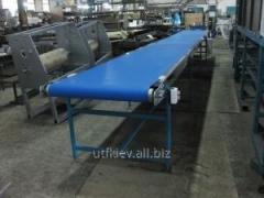 Conveyor tape taking away
