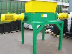 The equipment on processing of rubber production