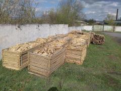 Отходы переработки(обрезки) дубовые.