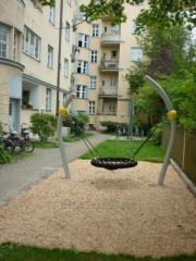 Элементы городского дизайна Bowl Swing