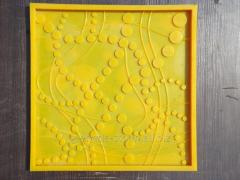 The 3D panel form polyurethane for production of