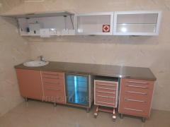 Set of furniture medical for the medical hall