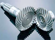 Pinion shafts are conic, All types of mechanical