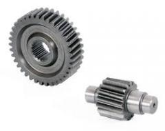 Gear wheels of distributing shafts, All types of