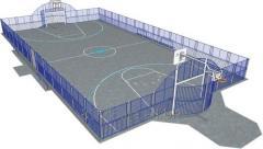 Поля для футбола HAGS Arena Detroit 16х31
