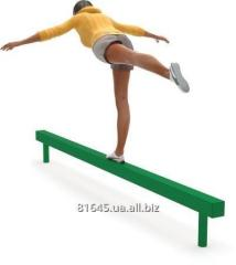 Exercise machines for fitness of Balance Beam