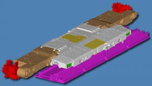 Mining UKN400 combine