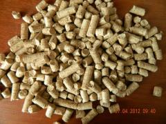 Pellet (Fuel granule) packed up