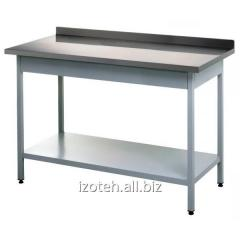 Tables corrosion-proof for cutting of products
