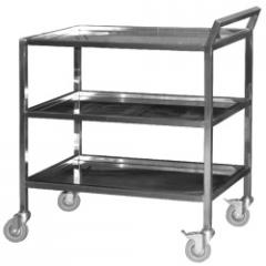 Carts serving for transportation of ware