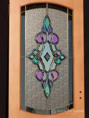 Полупрозрачни огледала стъкло с прилагане на титанов нитрид с оптични свойства като злато