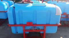 Sprayer of hinged Wirax 800 l./12 m.