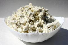 Творожная масса с чесноком и зеленью, жирность 18%