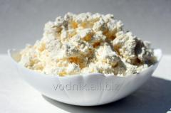 Cottage cheese farmer, fat content of 18%