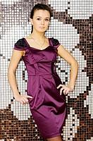 Гламурное женское платье коктейльное платье