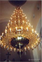 Church chandeliers