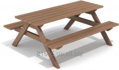 Деревянный стол Träjon