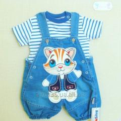 Overalls for the boy 6045